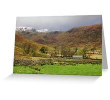 Austere Beauty of The Lakes Greeting Card