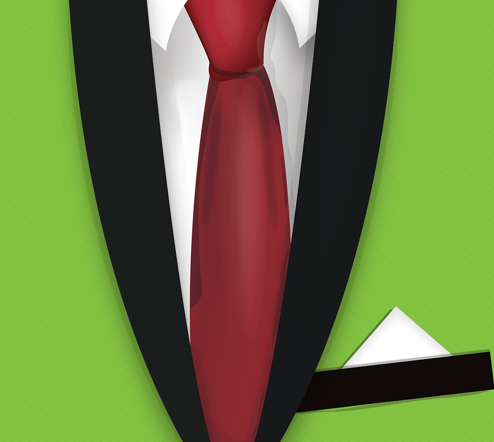 Suit and Ti by Nick  Greenaway