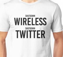 "STORMZY SHUT UP ""shutdown wireless, shutdown twitter"" Unisex T-Shirt"
