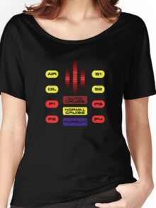 Knight Rider KITT Car Dashboard Graphic Women's Relaxed Fit T-Shirt