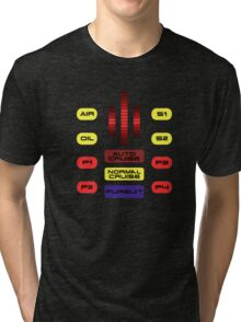 Knight Rider KITT Car Dashboard Graphic Tri-blend T-Shirt