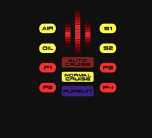 Knight Rider KITT Car Dashboard Graphic T-Shirt