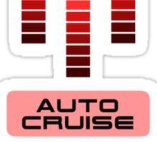 Knight Rider KITT Car Dashboard Graphic Sticker