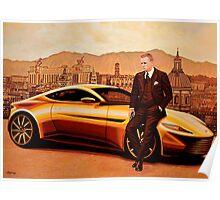 Daniel Craig in SPECTRE as James Bond Poster