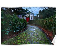 Larnach Stables Poster