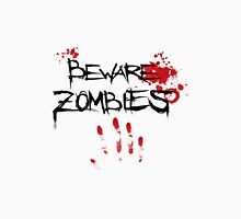 Beware Zombies Bloody Hand T-Shirt
