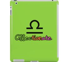 Libra Upfront iPad Case/Skin
