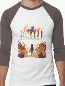 Attack on giant Men's Baseball ¾ T-Shirt
