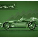 Vanwall - Digital Painting by David Jones