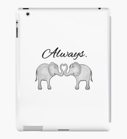 Always Elephants iPad Case/Skin