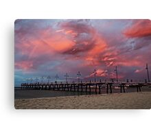 Pink Cotton Candy Canvas Print