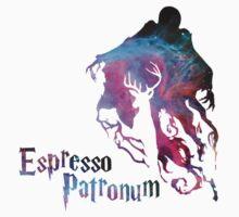 Espresso patronum typo Kids Tee