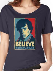 Believe in Sherlock Holmes Women's Relaxed Fit T-Shirt