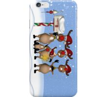 iPhone Case Reindeer Singing Carols iPhone Case/Skin