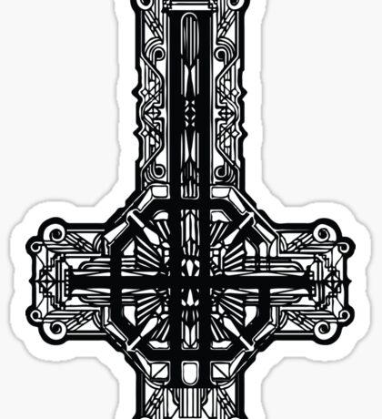 Ghost - Meliora logo Sticker