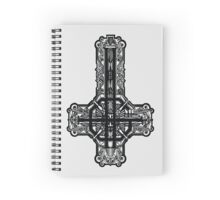 Ghost - Meliora logo Spiral Notebook