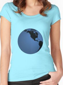 globe Women's Fitted Scoop T-Shirt