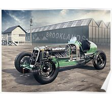 E.R.A. Cutaway Illustration - Brooklands Poster