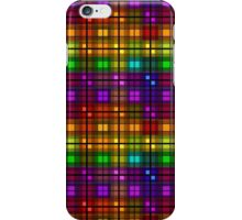 Over the Rainbow Plaid iPhone Case/Skin