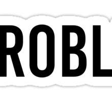 STORMZY #PROBLEM Sticker