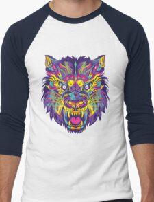 Rainbow Tiger Men's Baseball ¾ T-Shirt