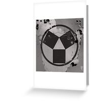 Cool - Modern? Vintage? Conceptual or Abstract? Greeting Card
