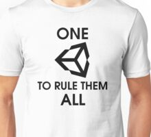 One Unity to rule them all (Black) Unisex T-Shirt