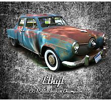 Ethyl Photographic Print