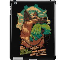 I love my dog iPad Case/Skin