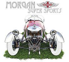 Morgan - Illustration by David Jones