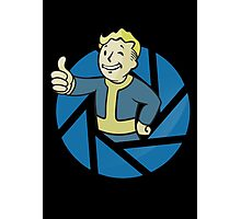 Aperture Vault Boy - Gamemix Photographic Print