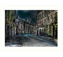Evening in Low Petergate Art Print
