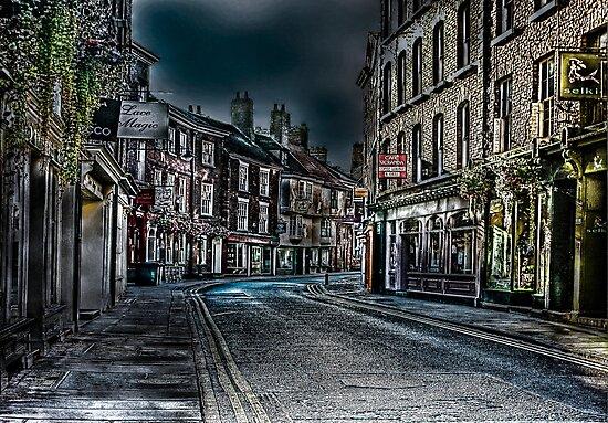 Evening in Low Petergate by Trevor Kersley