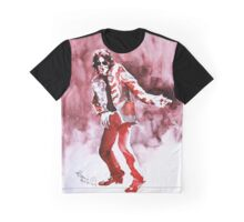 Red Pink Graphic T-Shirt