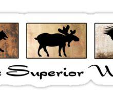 Lake Superior Wildlife Sticker