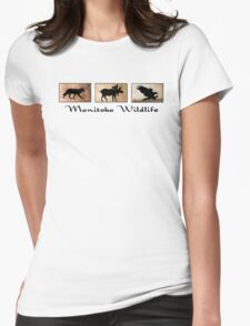 Manitoba Wildlife Womens Fitted T-Shirt
