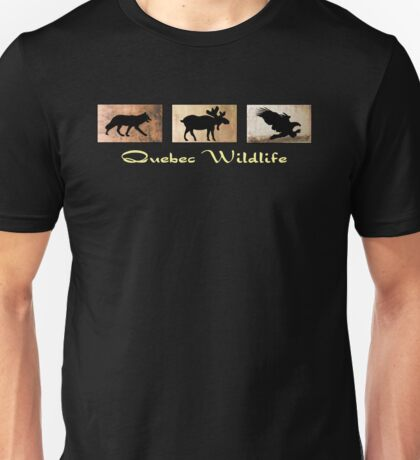 Quebec Wildlife Unisex T-Shirt
