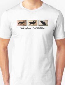 Quebec Wildlife Unisex T-Shirt