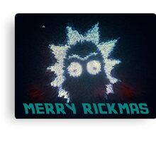 Rick And Morty Christmas Canvas Print
