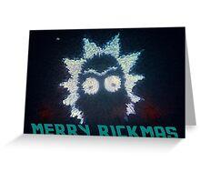 Rick And Morty Christmas Greeting Card