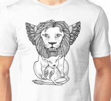 And So The Lion Fell in Love with The Lamb Unisex T-Shirt