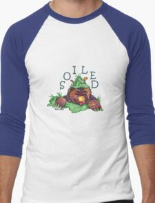Soiled shirt (Drawn) Men's Baseball ¾ T-Shirt