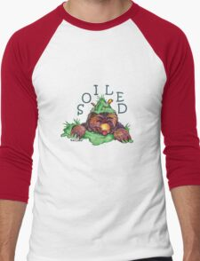 Soiled shirt (Drawn) Men's Baseball ¾ T-Shirt