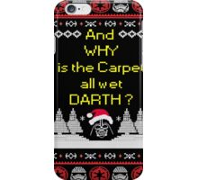 and why darth iPhone Case/Skin