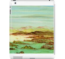 A Quiet Stretch of Coastal Solitude iPad Case/Skin