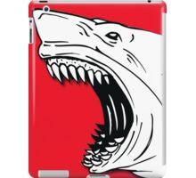Angry Shark Art Logo Design iPad Case/Skin