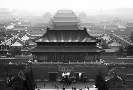 Roofs of Fobidden city by jasminewang