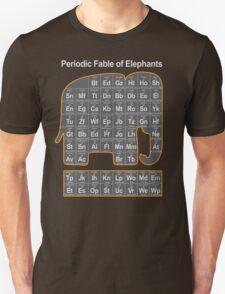 Periodic Fable of Elephants Unisex T-Shirt