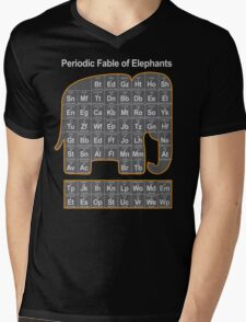 Periodic Fable of Elephants Mens V-Neck T-Shirt