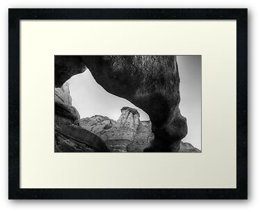 Arch Bisti/De-Na-Zin Wilderness Monochrome by Bob Christopher
